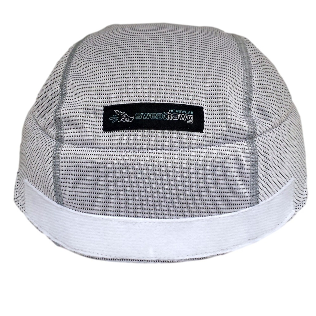 SweatHawg Helmet Liner X² - Hook and Loop in Ash White