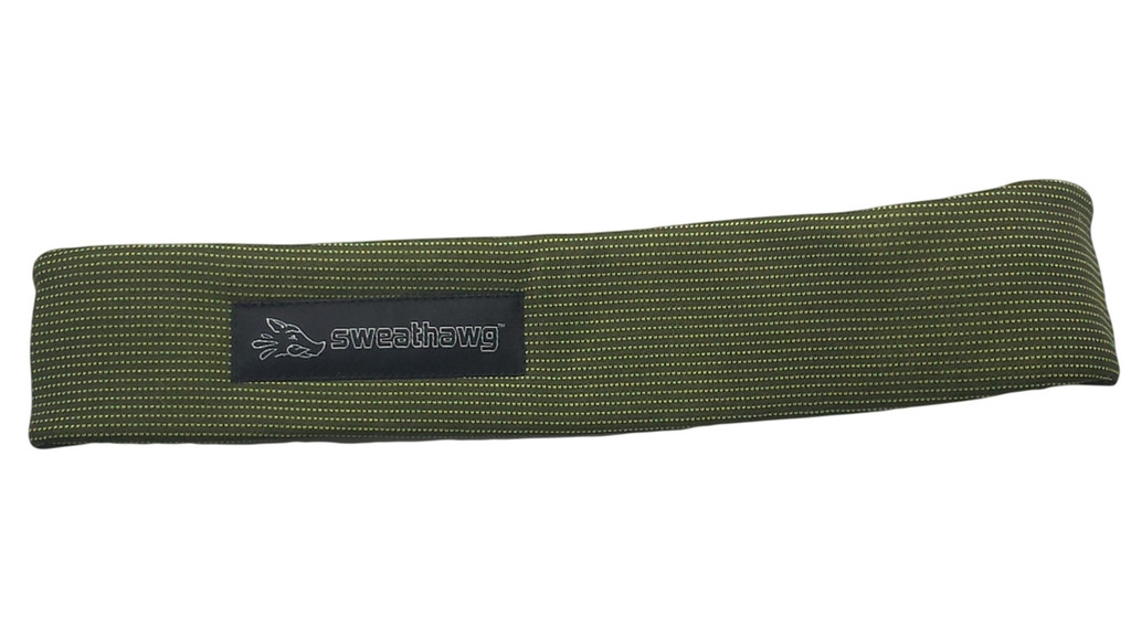 SweatHawg Headband - Olive