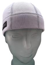 Ash White Skull Cap - SweatHawg Headwear