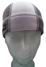 Stormy Grey and Ash White SweatHawg Skull Cap