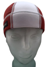 Burgundy and Ash White SweatHawg Skull Cap