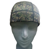 Stylish worn alone or under a helmet or hat.  SweatHawg Do-Rag Skull Cap X2 is guaranteed to keep sweat out of your eyes better than any product out there.  Now in camo.
