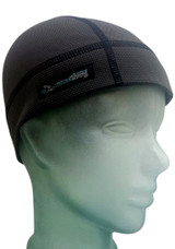 Our Skull Cap Shorty comes down to the top of the ears on most.