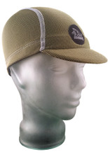 Cycling Cap in Olive Green