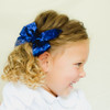 Lauren. Glitter Toddler Hair Bow Clips or Baby Headbands.