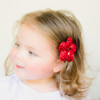 Shelby. Sequined Flower Hair Clip