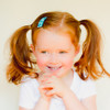 Toddler Barrette Turquoise Bursts of Glitter