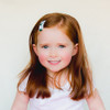 Toddler Barrette St Patrick's Day Shamrocks