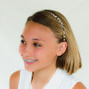 Leopard Print Metal Headbands. Fits Girls, Teens and Adults.