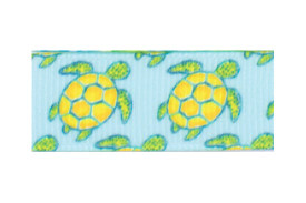 Yellow and apple green turtle hair clippy