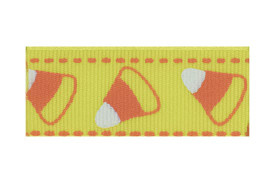 Our dandy candy corn hair clip is sure to please!