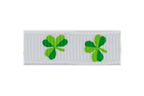 Shamrocks French Clip Barrette