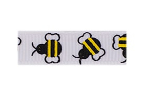 Bumble Bees French Clip Barrette