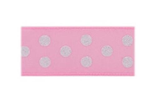 Toddler Barrette Pink Sparkle Dots