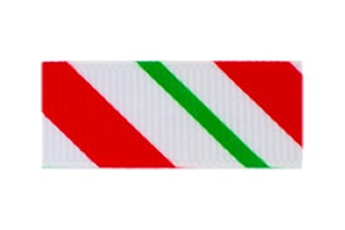 Toddler Barrette Christmas Stripes