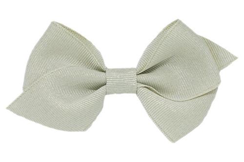 Metallic Nella hair bows that shine!