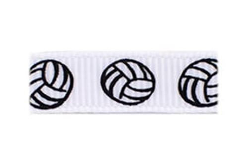 Volleyball Fan Baby Barrette