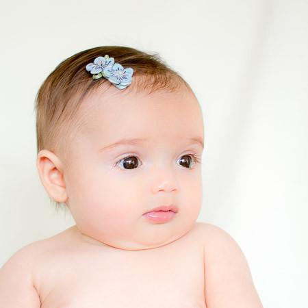 Alyssa. Felt and Pearl Flower Hair Clip
