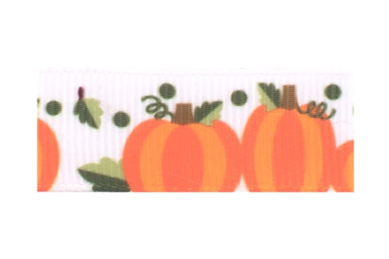 Pumpkin toddler hair clip