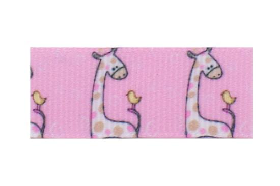 Giraffe and bird friends - oh so cute on a toddler barrette