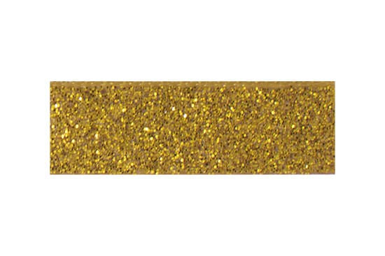 Gold glitter baby hair clips