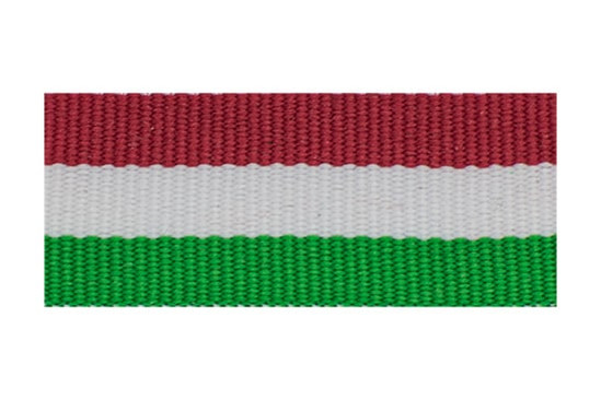 Red, White, and Emerald Stripes