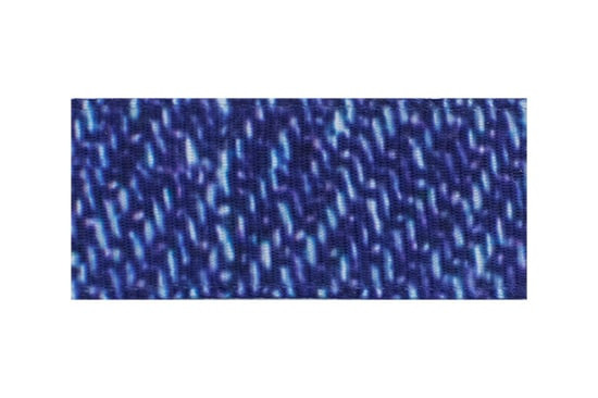 Our denim printed ribbon makes an adorable casual toddler hair clip for daily wear