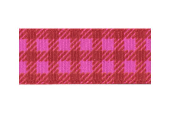 Our pink and red plaid toddler hair clip is perfect for Valentines or just daily wear