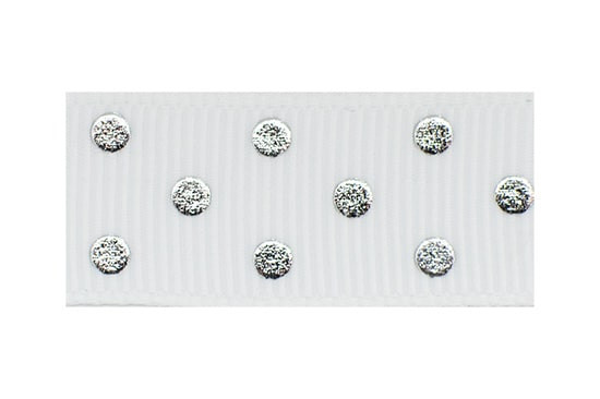 Our Silver Polka Pop Toddler Barrette is the perfect hair clip for your little lady wanting a cute clip with a little bling - perfect for dress up or a day of play!