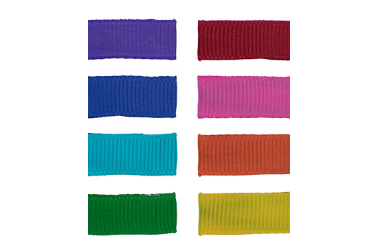 Simple Solids Toddler Hair Clip Value Packs