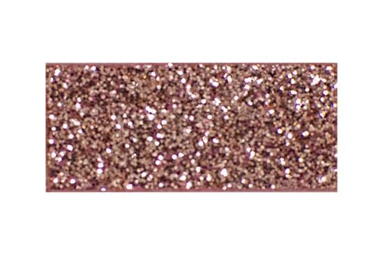 Rose gold glitter glam toddler hair clips