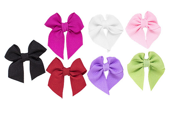 These 7 bows make an adorable newborn baby girl bow gift, and we'll happily include gift wrap upon request