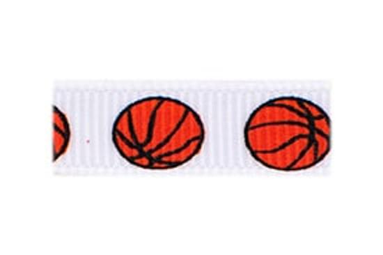 Basketball Fan Baby Barrette