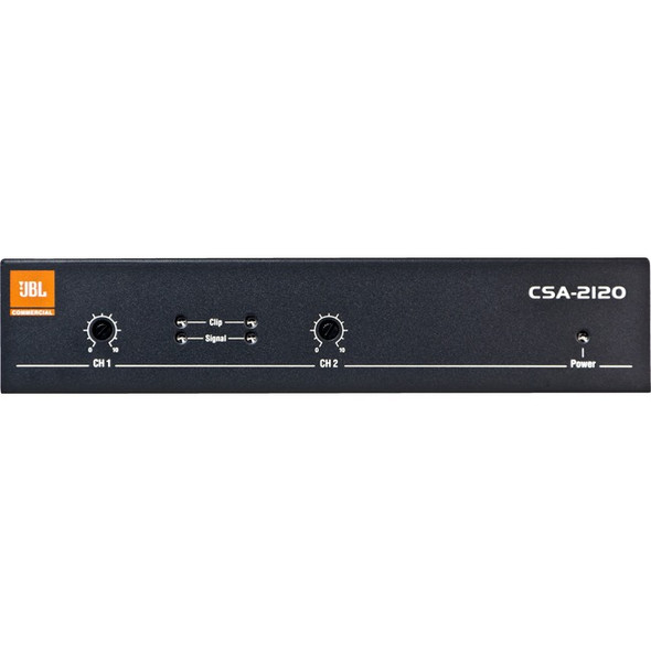 JBL Commercial CSA2120 Amplifier - 240 W RMS - 2 Channel - NCSA2120R-U-US