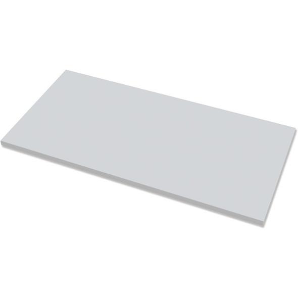 "Fellowes High Pressure Laminate Desktop Gray - 60""x30"" - 9649501"