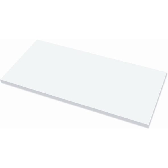 "Fellowes High Pressure Laminate Desktop White - 60""x30"" - 9649201"
