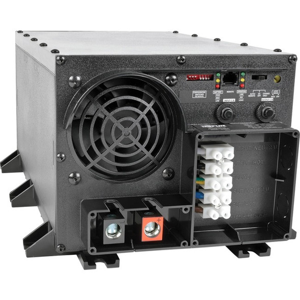 Tripp Lite 2400W APS 48VDC 120V Inverter / Charger w/ Auto Transfer Switching ATS Hardwired UL - APS2448UL