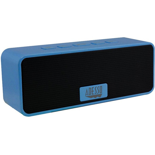 Adesso Xtream S2L Portable Bluetooth Speaker System - Blue - XTREAMS2L