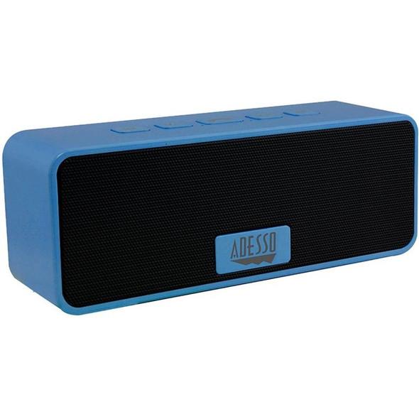 Adesso Xtream S2L Portable Bluetooth Speaker System - Blue - XTREAMS2L