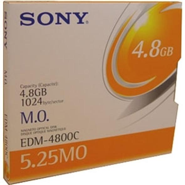 "Sony 5.25"" Magneto Optical Media - EDM4800CWW"
