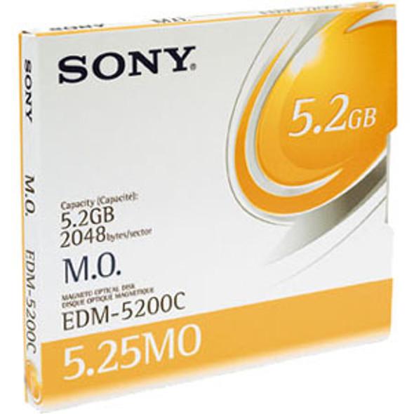 "Sony 5.25"" Magneto Optical Media - EDM5200CWW"