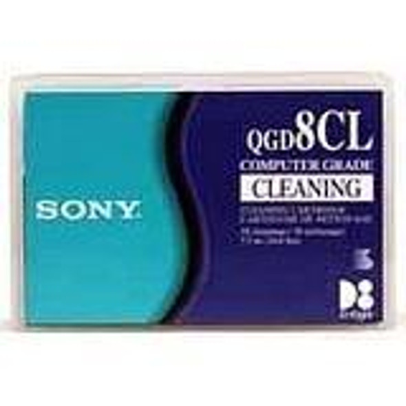 Sony D8 8mm Cleaning Cartridge - QGD8CL