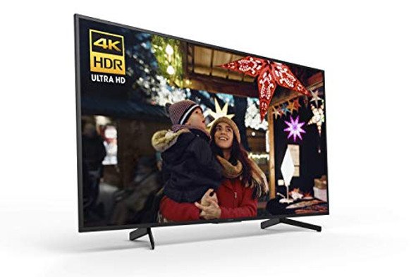 Sony XBR55X800G Inch TV: 4K Ultra HD Smart LED TV with HDR and Alexa Compatibility - 2019 Model, Black
