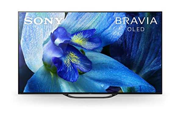 """Sony XBR-65A8G - 65"""" Class (64.5"""" viewable) - BRAVIA XBR A8G Master Series OLED TV - Smart TV - Android TV - 4K UHD (2160p) 3840 x 2160 - matte black"""