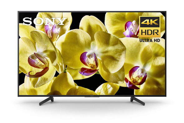 """Sony XBR-65X800G - 65"""" Class (64.5"""" viewable) - BRAVIA XBR X800G Series LED TV - Smart TV - Android TV - 4K UHD (2160p) 3840 x 2160 - HDR - direct-lit LED, frame blinking - black"""