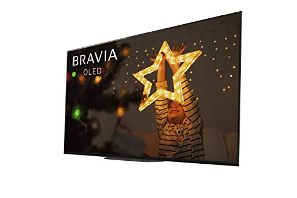 Sony XBR-77A9G 77 Inch TV: MASTER Series BRAVIA OLED 4K Ultra HD Smart TV with HDR and Alexa Compatibility - 2019 Model