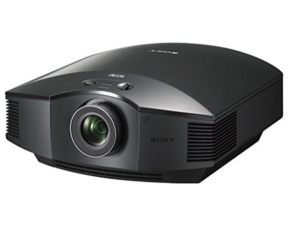 Sony Home Theater Projector VPL-HW45ES: 1080P Full HD Video Projector for TV, Movies and Gaming - Home Cinema Projector with 3 SXRD Imagers and 1,800 Lumens for Brightness - 3D Compatible