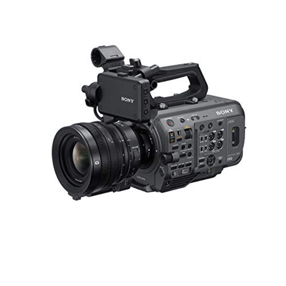 Sony XDCAM PXW-FX9VK - Camcorder - 4K / 60 fps - 20.5 MP - 4.8x optical zoom FE PZ 28-135mm F4 G OSS lens - flash card - NFC, Wi-Fi