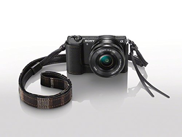 Sony LCSEBD/B Body Case Lens Jacket (Black)