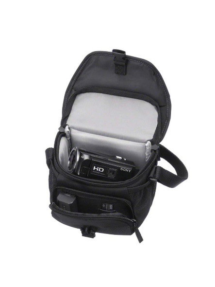 Sony LCSU11 Soft Compact Carrying Case for Cyber-Shot Cameras (Black)